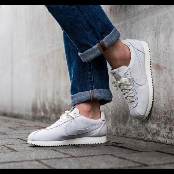 Nike Classic Cortez Premium QS TZ Sail Leather